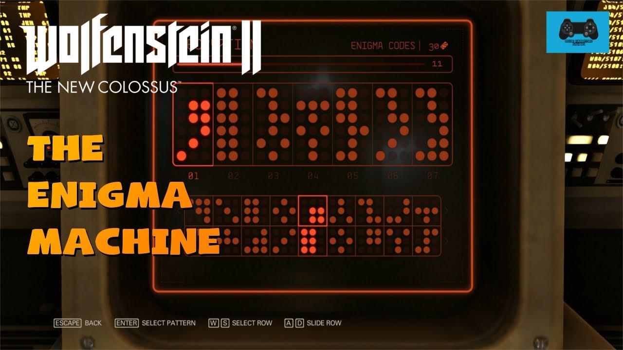 The Enigma Machine - Leopold Meissner | Wolfenstein II The New Colossus #1