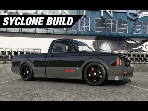 Gmc Syclone Drift Build Forza 6 Youtube