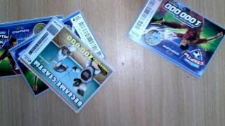 лотерея за 20 рублей выграл 580