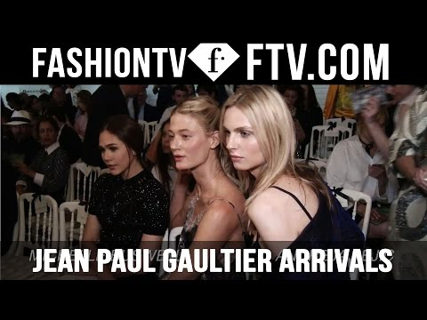 Paris Haute Couture Week Fall/Winter 2016-17 Jean Paul Gaultier Arrivals | FashionTV
