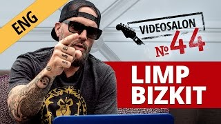 Fred Durst (LIMP BIZKIT) critiques Russian music videos (Videosalon №44)