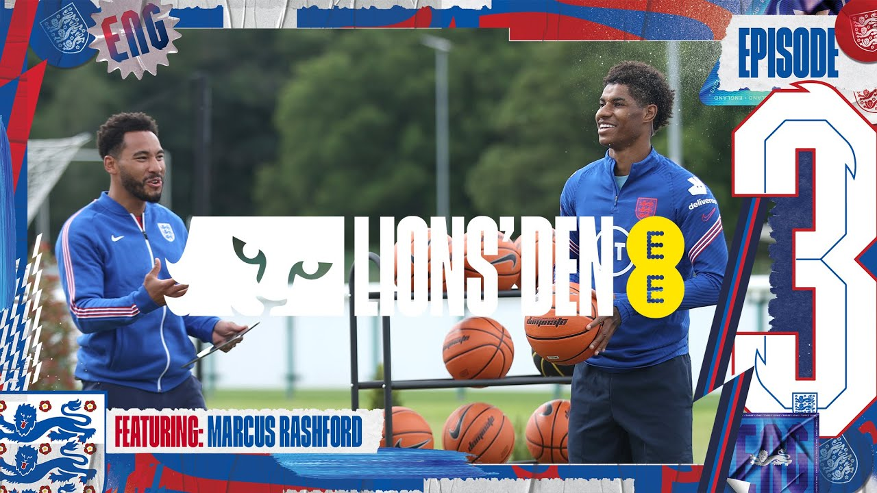 Download Marcus Rashford & @Wretch 32 In The Den!   Ep. 3   Lions' Den Connected by EE   England