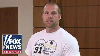 Hero teacher speaks after Indiana school shooting