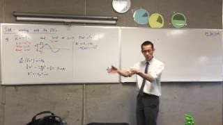 Differential Equations for SHM (1 of 2: A curious pattern)