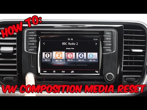 How To: VW Composition Media Reset / Reboot
