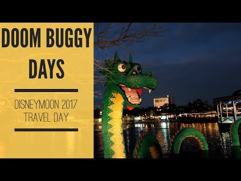 Disneymoon Travel Day  All Star Music Checkin and Disney Springs