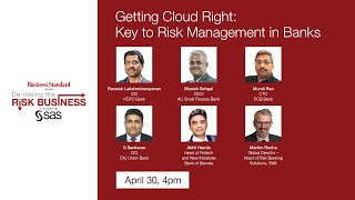De-risking the Risk Business webinar series - Getting Cloud Right: Key to Risk Management in Banks