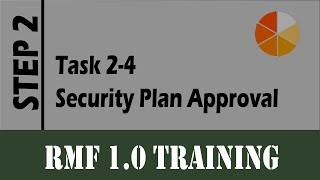 RMF Task 2-4 (Security Plan Approval)
