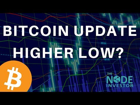 Higher Low at 7900?  Bitcoin Price Analysis & Market Update