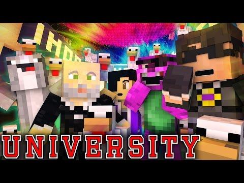 "MINECRAFT UNIVERSITY! - ""ENTERING ROSS' MIND"" #5 (Minecraft Roleplay)"