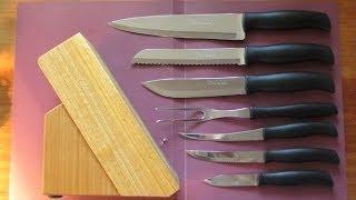 Обзор набора кухонных ножей Tramontina Athus 23099/082