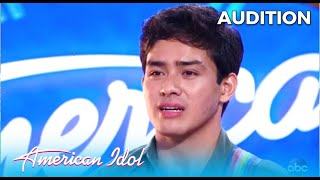 Francisco Martin: He's So Nervous But Watch What Happens When He Opens His Mouth | @American Idol