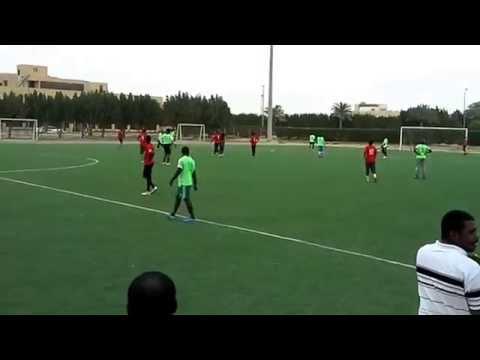 Nigeria Versus Sudan in KFUPM  (1 - 0)