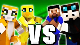 Minecraft BUILD BATTLE #4 TheDiamondMinecart & Vikkstar vs Stampylonghead & Sqaishey @ Minecon 2015