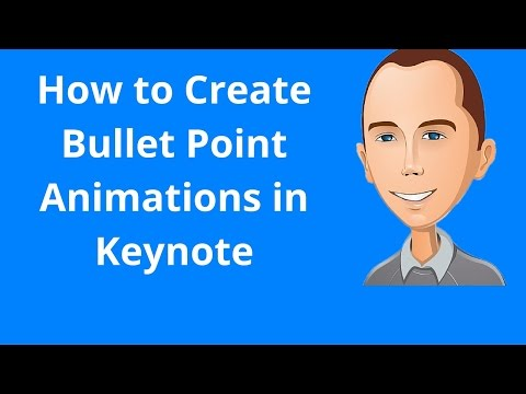 How to Create Bullet Point Animations in Keynote