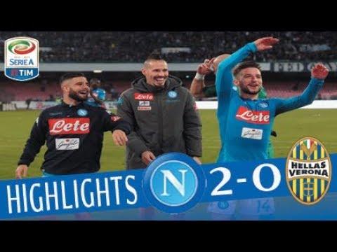 Napoli - Hellas Verona 2-0 - Highlights - Giornata 20 - Serie A TIM 2017/18