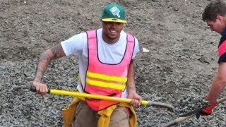Chris Brown Fakes His Community Service