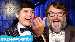 Severed Finger Trick TERRIFIES Jack Black ft Junk Drawer Magic | The House with a Clock in Its Walls