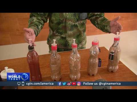 Colombian military uses latest technology to disarm landmines