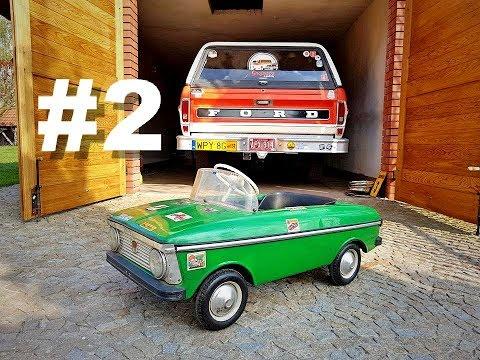 Moskwicz na pedały / russian toy car / 17.04.2018 Przysucha / Moskvich Azak / pedałowiec
