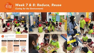 Start Small Dream Big (Week 7 & 8: The 3Rs - Reduce, Reuse)