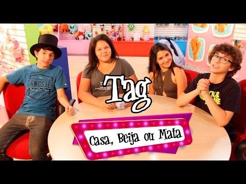 Tag - Casa, Beija Ou Mata ( Ft. Lipe Volpato, Aysha Benelli E Fhelipe Gomes)