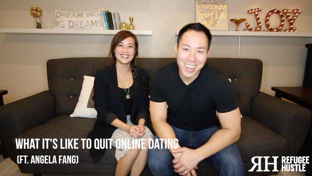 I quit online dating