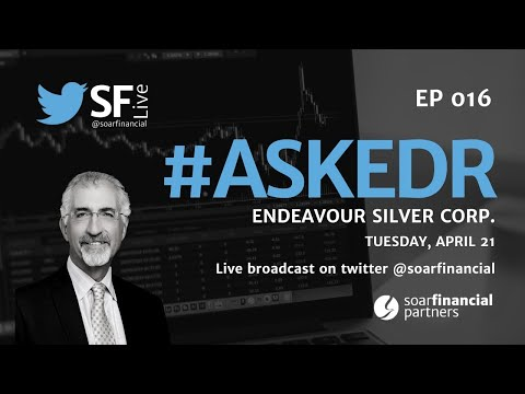 Endeavour Silver CEO Bradford Cooke Interviewed By Kai Hoffmann From SF LIVE