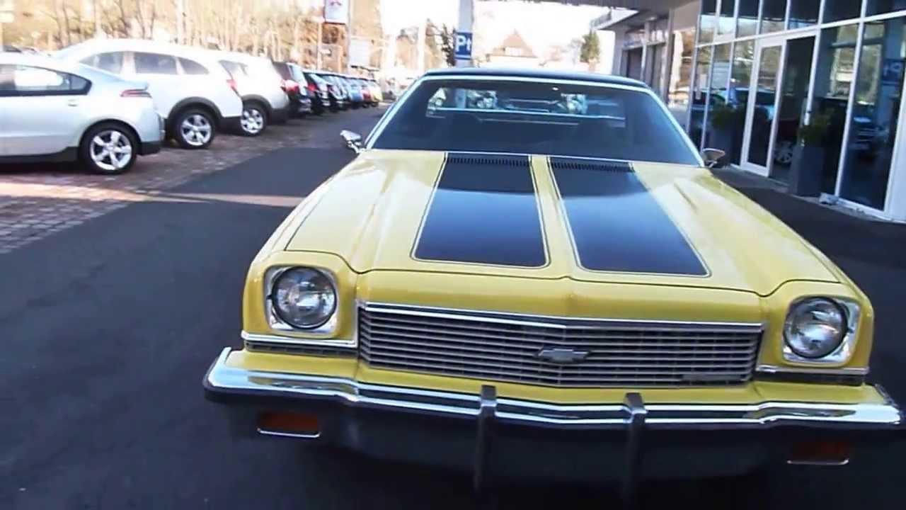 Chevrolet El Camino Gelb 1973 For Sale Youtube 1957
