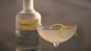 Lemon Drop Cocktail - The Cocktail Spirit With Robert Hess - Small Screen