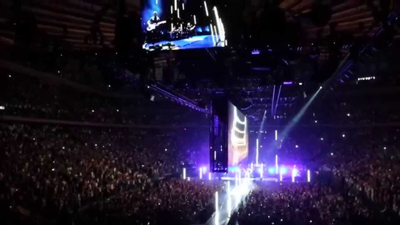 u2 with or without you live 2015 at madison square garden - U2 At Madison Square Garden