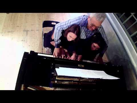 Dreyblatt für Klavier zu 6 Händen (William Friedrich Ernst Bach)