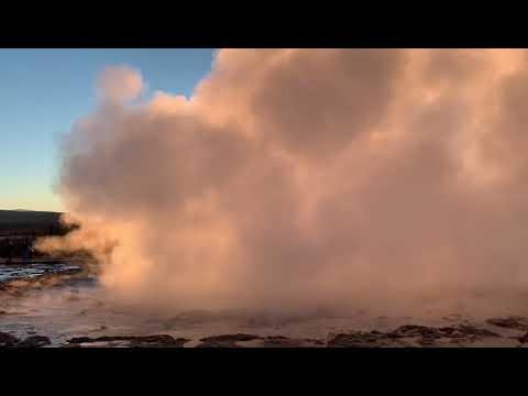 Geysir Strokkur Island