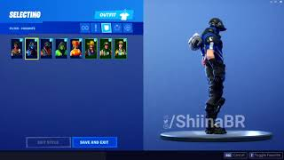 LEAKED *NEW* CARBON COMMANDO SKIN SHOWCASE FORTNITE BATTLE ROYALE SEASON 8