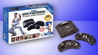 Sega Genesis with 80 Built In Games Review and Test