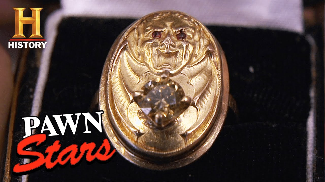 Pawn Stars: $100,000 for Gangster Lucky Luciano's Ring (Season 5) | History