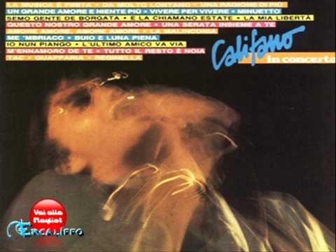 Franco Califano - Da molto lontano (Live)