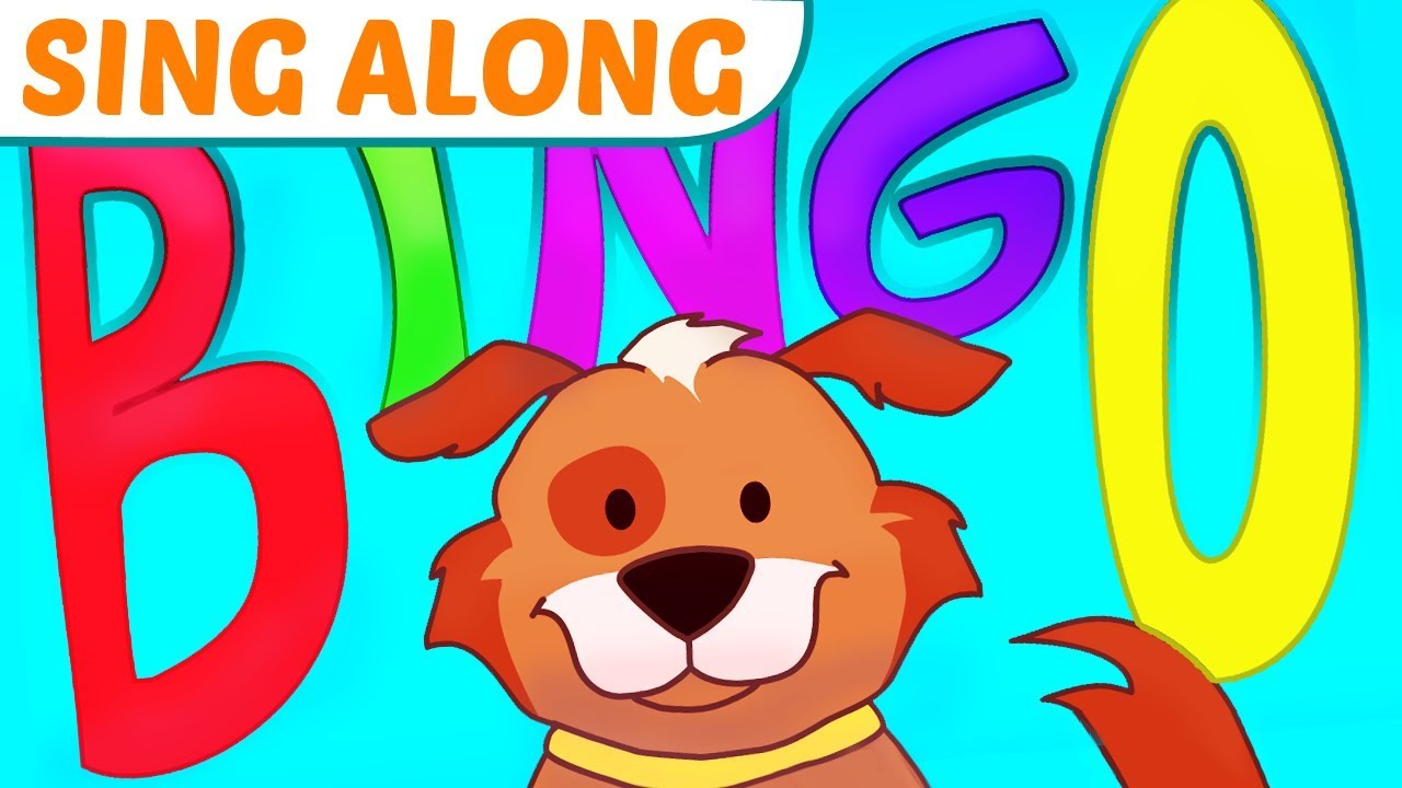 Bingo Song With Lyrics Great The Dog Nursery Rhyme Sing Along For Kids