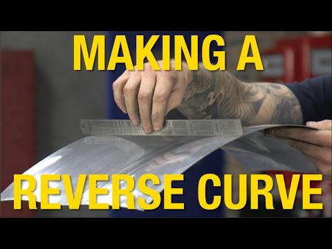 Serious Metal Fab!  Making a Reverse Curve With the English Wheel - Tech Tip From Eastwood