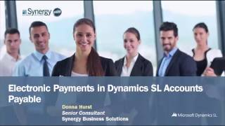 Electronic Payments in Dynamics SL Accounts Payable