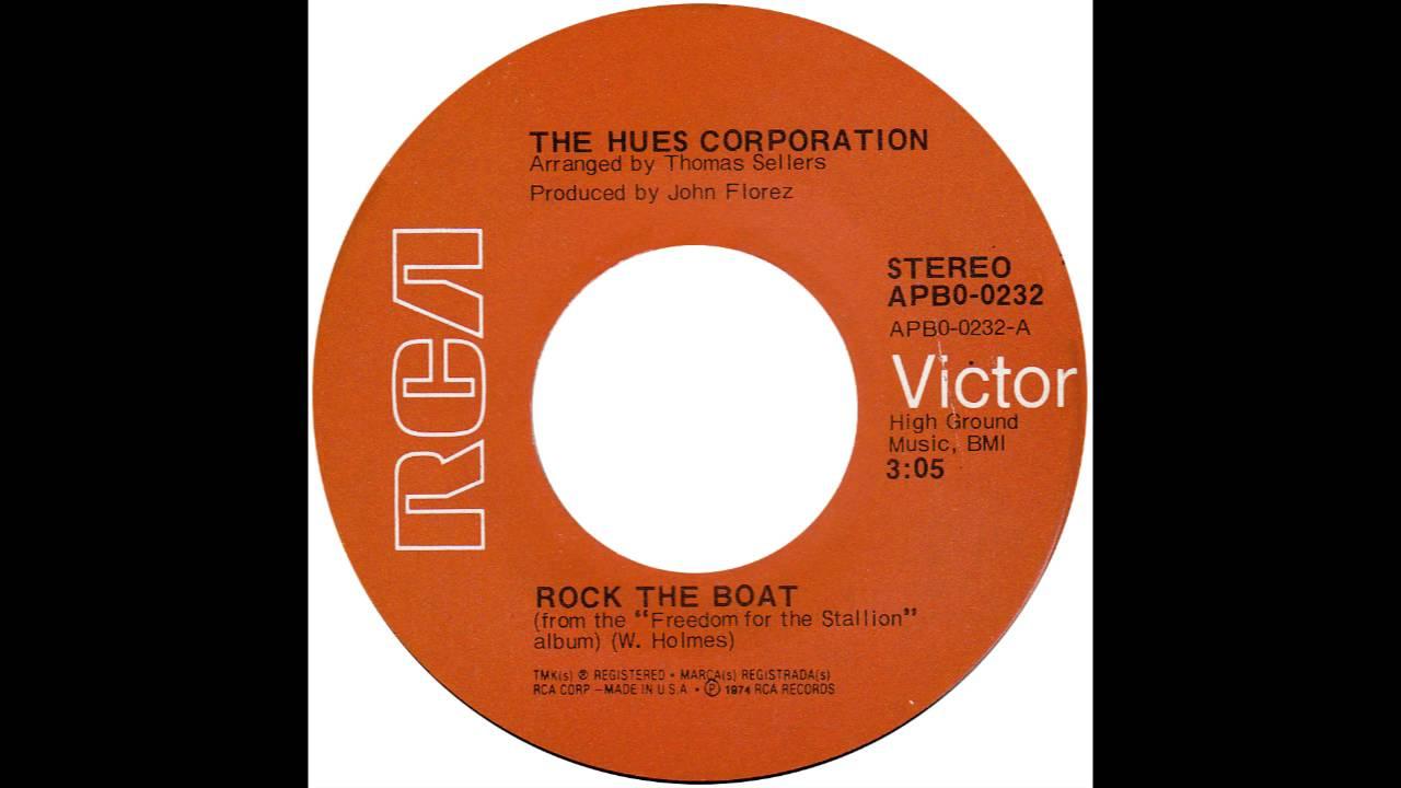 Hues Corporation Rock The Boat Rca 1974 Youtube