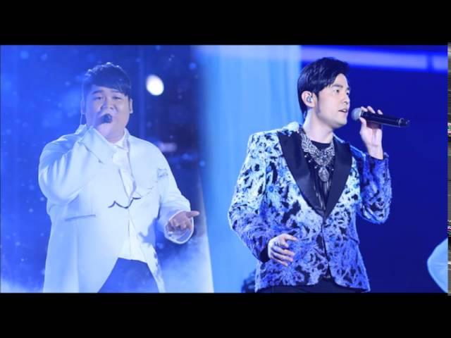中國好聲音 第四季 - 第十四期 2015-10-07 周杰倫 + 李安 - 髮如雪 無雜音版
