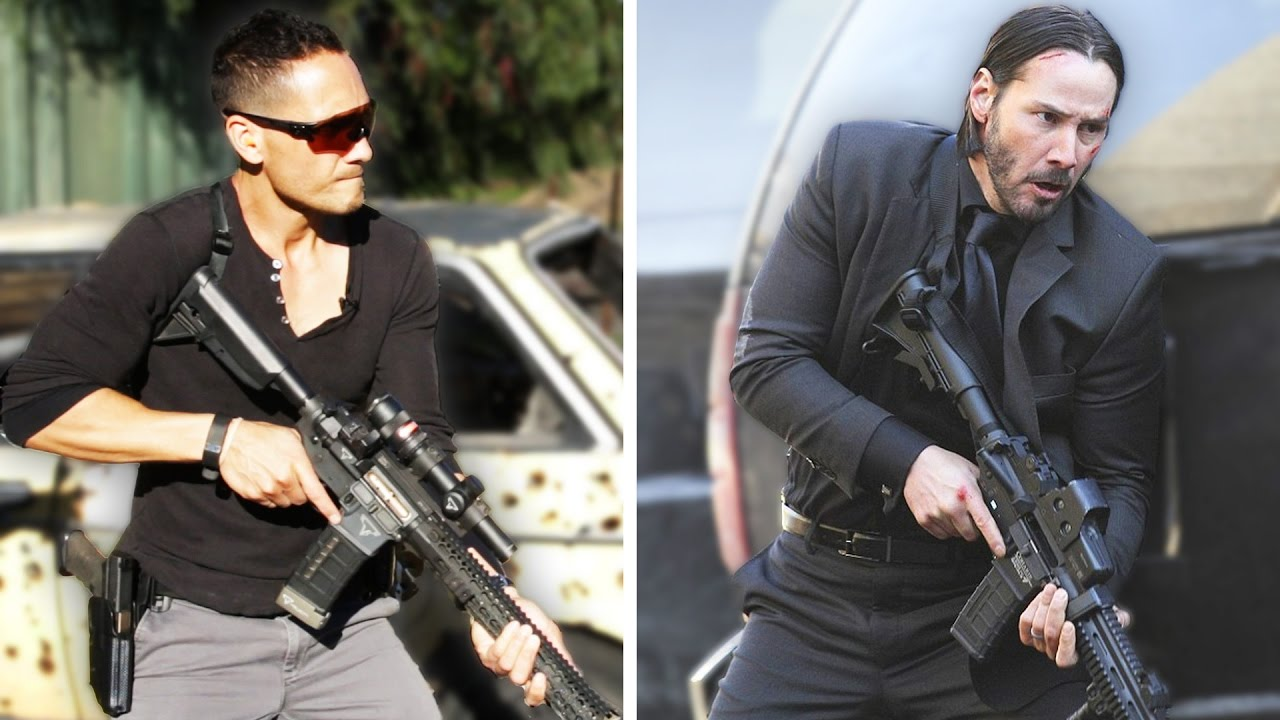Regular People Trained To Shoot Guns Like John Wick