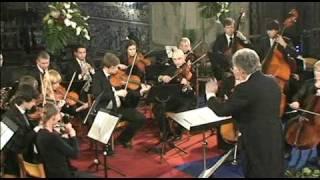 MOZART symphony nr 29 4.movement allegro con spirito horta-camerata kurt spanier cond 3.4.2010 LIVE