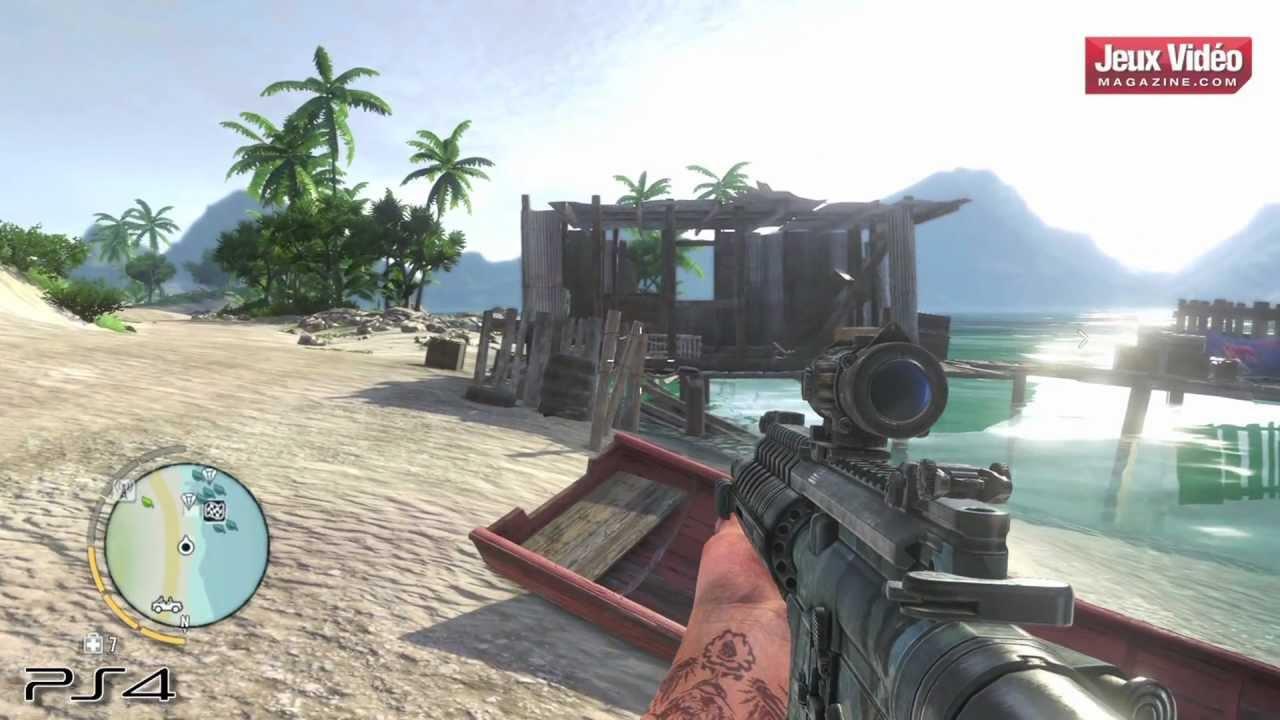 Jeuxvideomagazine Com Far Cry 3 Ps3 Vs Ps4 Youtube