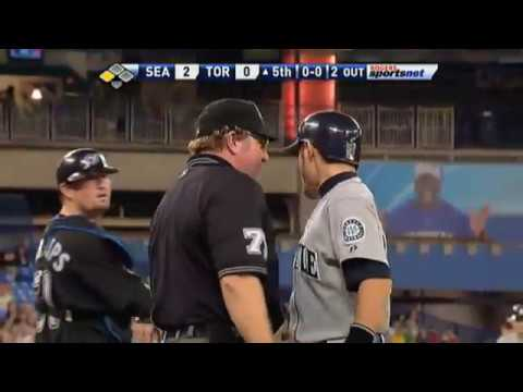 c9a85374 Remember when Ichiro was once ejected for showing an Umpire exactly where  the pitch went? : mlb