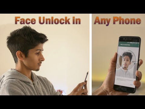 How to Enable Face Unlock in Any Smartphone | Remove the