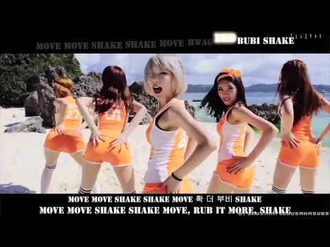 Scarlet   Hip Song MV English Subs Karaoke Rom Han