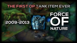 The First Ever Tank META In League of Legends History | Force of Nature Item History BETA - SEASON 3