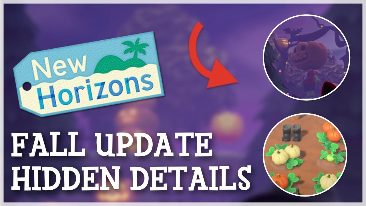 Animal Crossing New Horizons - Fall Update Hidden Details You Should Know